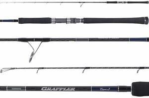 Shimano Grappler Type J Saltwater Spinning Jigging Fishing Rods - *Choose Model*