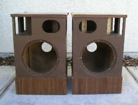 BOSE 501 Vintage Speaker Cabinets Restore Or Parts