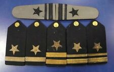 US NAVY USN SHOULDER BOARDS LIEUTENANT, LIEUTENANT JUNIOR GRADE, AND ENSIGN RANK