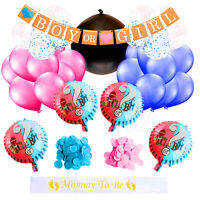 Gender Reveal Party Supplies | Baby Shower Decorations for Girl and Boy | US Sel