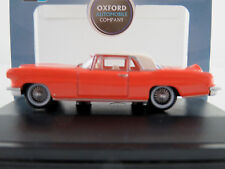 Oxford 87LC56004 Lincoln Continental Mark II (´56) in coral/white1:87/H0 NEU/OVP
