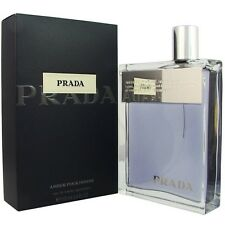 PRADA AMBER POUR HOMME * Prada 3.4 oz / 100 ml EDT Men Cologne Spray