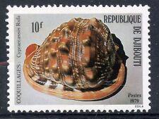 TIMBRE REPUBLIQUE DE DJIBOUTI N° 512 ** FAUNE MARINE COQUILLAGE