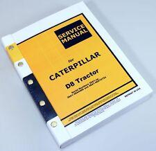CAT D8 TRACTOR CATERPILLAR SERVICE REPAIR MANUAL TECHNICAL SHOP BOOK OVERHAUL