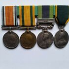 TF War Medal/Afghanistan 19 group to TF-1212 CQMS GWS Selby 1/4 Royal West Kent