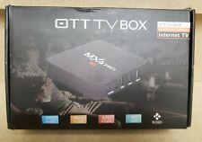 MXQ Pro 4K OTT TV BOX INTERNET TV Multimedia Gateway CPU 64 BIT, Quad Core