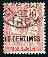 Timbre MAROC (Bureau Français)French Office MOROCCO Stamp YT n°12 (c) obl(Cyn19)