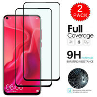For Huawei Nova 5i Pro - Full Coverage Tempered Glass Screen Protector [2-Pack]