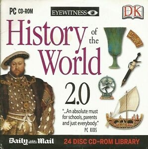 HISTORY OF THE WORLD 2.0 - PROMO PC CD-ROM (2007) EYEWITNESS