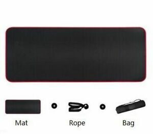 Yoga Mats 10mm Thickened Non-slip Tear Resistant Fitness Gym Sports Gymnastic