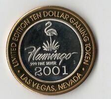 "Flamingo Casino 2001 ""1946 Hotel"" Silver Strike"