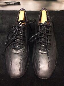 Clarks Black Leather Men's Shoes size 7 G