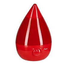 Crane Drop Humidifiers Ultrasonic Cool Mist Humidifier Filter Free 1 Gallon Red
