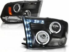 DODGE RAM 1500 2500 3500 2009 2010 2011 LPDO08 FARI ANTERIORI HALO LED