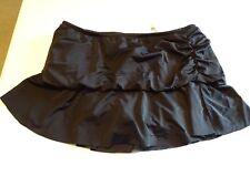 18W Black Tiered Swim Skirt- Worn Twice - Excellent Condition