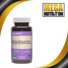 MRM Resveratrol 60 Végétalien Capsules Renouée Japonais Antioxydants Gratuit