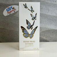 Hanae Mori by Hanae Mori, 3.4 oz EDP Spray for Women (Blue Butterfly) NEW In BOX