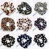 Leopard Velvet Scrunchie Elastic Women Hair Accessories Girls Fashion Hair Bands