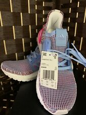 Adidas UltraBOOST 19 J Glow Blue/Active Pink Kids Size 6, Women 8, EE6656 - NEW