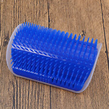 Cat Arch Hair Grooming Scratch Toy Self-groomer Massage Scratching Tool Blue