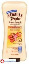 BL Hawaiian Spf#50 Tropic Sheer Touch Lotion 8 oz - Two PACK