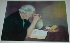 Jack Garren GRATITUDE 16x20 unframed mounted textured print, woman giving thanks