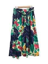 Designer Missoni Vintage 1970s Wrap Floral Midi Length Size 10 Women's Skirt