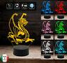 Idea regalo originale Mostro DRAGO Lampada led 7 colori selezionabili Compleanno