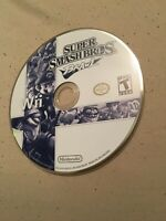 super smash bros brawl wii disc only