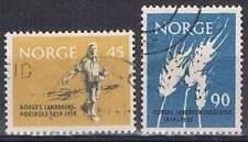 Noorwegen gestempeld 1959 used 436-437 - Landwetenschap Hogeschool