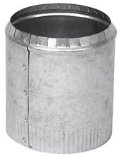 """Imperial Duct to Pipe Round Starting Collar 4""""x 4""""x 4"""" 30 Ga Galvanized GV0839-A"""