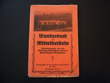 Wanderbuch für Mittelholstein (Motiv Eisenbahn/Railway) - b4687