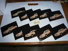 1980 Ford Thunderbird Postcards (10) Lot of Cards - O/M 057