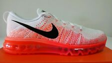 NIKE AIR MAX FLYKNIT 97 WHITE ORANGE FLUO N.45,5 NEW COLOUR PRICE