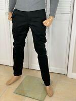 ARMANI EXCHANGE Authentic Classic Slim Stretch Chino Pant Black NWT