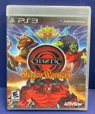 Chaotic: Shadow Warriors New With Y Fold Seal For  Playstation 3 PS3