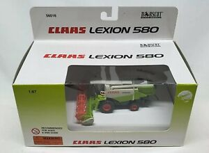 Claas Lexion 580 Combine With Grain Head   By Norscot  1/87th Scale