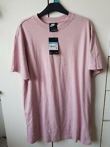 Nike Pink T Shirt Dress Uk 12-14