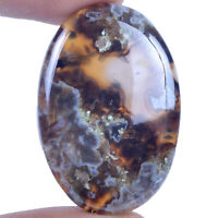Cts. 66.10 Natural Pseudomorph Stick Agate Cabochon Oval Cab Loose Gemstone