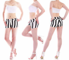 Kurze gestreifte Damen-Shorts & -Bermudas in Größe 36