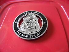 Boston Mass. FBI Joint Terrorism Task Force Challenge Coin MSP FPS ATF