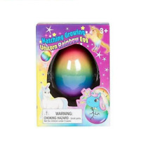 Set of 2 Surprise Growing Unicorn Hatching Rainbow Egg Kids Toys