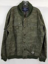 Vintage Tripple Fat Goose Co camouflage jacket  mens size 2XL green