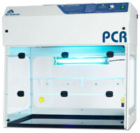 "PCR Workstation- 36"" wide Clean Bench Laminar Flow, Brand New, PCR-36"