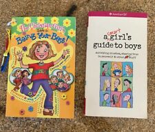 Lot 2 American Girl Smart Girl's Guide to Boys/ Christian Girl Guide To Best