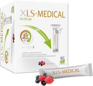 XLS Fat Binder Sachets,Berry Flavour-90 Sachets, 30 Days Weight Loss Damaged Box
