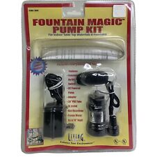 New Fountain Magic Pump Kit 4.5 Volt For Indoor Tabletop Waterfalls & Fountains