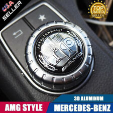 Car AMG Tree Interior Multimedia Control Decal Sticker Badge Decoration Logo