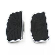 2x Rear Passenger Floorboard Footboards Footrest For Harley Sportster 883 1200