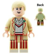 Custom Designed Minifigure The 5th Doctor Doc Dr Who Printed On LEGO Parts